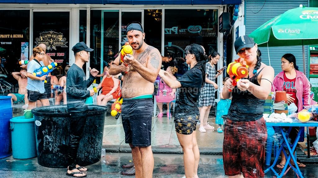 Songkran 2019 – Patong Beach, Thailand.